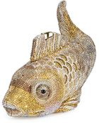 Judith Leiber Couture Koi Fish Crystal Minaudiere - Lyst