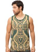 Black Scale The Nervi Tank - Lyst