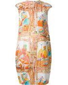 Stella Jean 'Paguro' Dress - Lyst