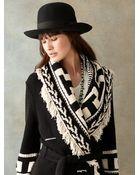RRL Intarsia-Knit Shawl Cardigan - Lyst