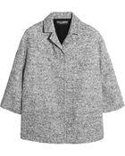 Dolce & Gabbana Wool-Blend Tweed Jacket - Lyst