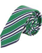 Barneys New York Multistripe Tie - Lyst