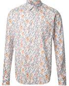 Paul & Joe Printed Shirt - Lyst