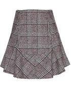 Carven Wool-Blend Tweed Skirt - Lyst