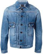People Classic Denim Jacket - Lyst