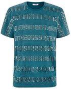 Versace Multi Stud T-Shirt - Lyst