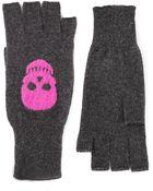 Autumn Cashmere Skull Gloves - Lyst
