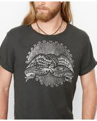 Denim & Supply Ralph Lauren Cotton Eagle Graphic T-Shirt - Lyst