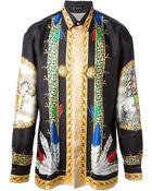 Versace Printed Shirt - Lyst