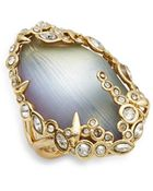 Alexis Bittar Imperial Lucite & Crystal Lace Ring - Lyst