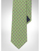 Polo Ralph Lauren Silk Foulard Narrow Tie - Lyst