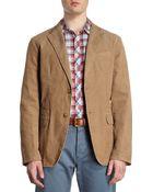Michael Kors Two-Button Corduroy Jacket - Lyst