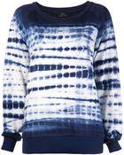 Cher Michel Klein Tie Dye Sweatshirt - Lyst