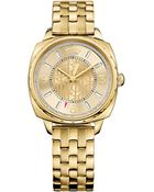 Juicy Couture Women'S Beau Gold-Tone Stainless Steel Bracelet Watch 34Mm 1901175 - Lyst