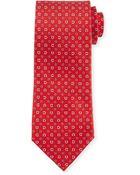 Ferragamo Gancini-Core Woven Tie - Lyst