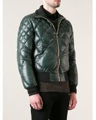 Dolce & Gabbana Quilted Bomber Jacket - Lyst