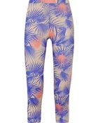 Live The Process Cropped Printed Stretch-Jersey Leggings - Lyst