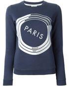 Kenzo 'Paris' Sweatshirt - Lyst