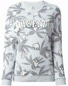 Zoe Karssen Printed Sweatshirt - Lyst