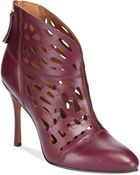 Nine West Darenne High Heel Booties - Lyst