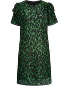 Marc Jacobs Printed Silk Dress - Lyst