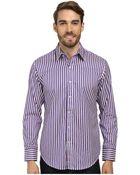 Robert Graham X Tailored Fit Ss Minnow Long Sleeve Woven Sport Shirt - Lyst