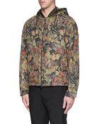 Valentino 'Camubutterfly' Reversible Nylon Hood Jacket - Lyst