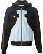Givenchy Patchwork Denim Jacket - Lyst