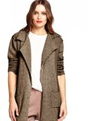 Michael Stars Sweater Coat - Lyst