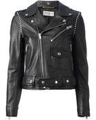 Saint Laurent Biker Jacket - Lyst