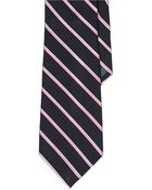 Lauren by Ralph Lauren Bespoke Striped Silk Tie - Lyst