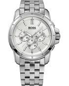 BOSS Orange Hugo Boss Watch, Men'S Chronograph Origin Stainless Steel Bracelet 46Mm 1512929 - Lyst