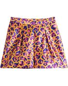 Peter Pilotto Printed Silk Shorts - Lyst