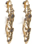 Alexis Bittar Imperial Crystal Lace Hoop Earrings - Lyst