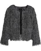 H&M Fringed Jacket - Lyst