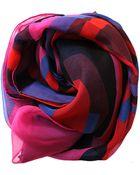 Alexander McQueen Logo Scarf - Lyst