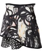 3.1 Phillip Lim Abstract Fern Print Skirt - Lyst
