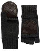 Lauren by Ralph Lauren Fingerless Glove Mittens - Lyst
