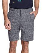 Fendi Dotted Bermuda Shorts - Lyst