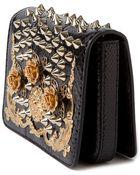 Dolce & Gabbana Embellished-Leather Cross-Body Bag - Lyst