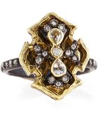 Armenta Wings Of Fortune Diamond & Sapphire Ring - Lyst