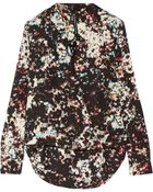 W118 by Walter Baker Hadley Printed Crepe Blouse - Lyst