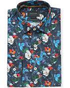 Duchamp Elie Floral Shirt - For Men - Lyst