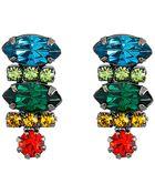 DANNIJO Tucan Earrings - Lyst