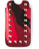 Valentino 'Rockstud' Iphone Case - Lyst
