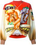 Moschino Twisted Front Sweatshirt - Lyst