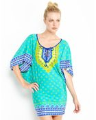 Trina Turk Seychelles Printed Cover-Up - Lyst