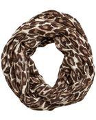 Kate Spade Autumn Leopard Infinity Scarf - Lyst