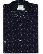 Paul Smith Music Note Print Slim-fit Shirt - Lyst