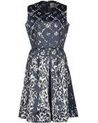 Preen By Thornton Bregazzi Short Dress - Lyst
